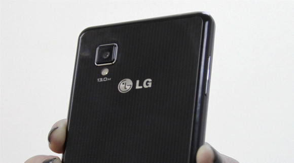LG Optimus G - back