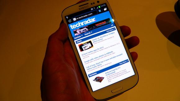 Samsung Galaxy S III Internet